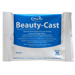 Beauty-Cast Inlay Investment Low Fusing Crown & Bridge 24/Ca 50