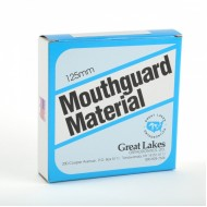 Red Mouthguard Material 3mm/125mm - Round (10/pkg)