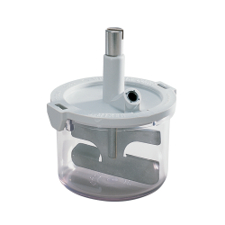 #6500 500 mL (350 g cap.) - 5 scoops of alginate* with #6508 Flat Paddle Assembly and Drive Nut #637