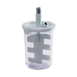 #6600 875 mL (650 g cap.) with #6606 Paddle Assembly and Drive Nut #6375