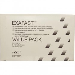 Exafast Heavy Body Value Pack 8-48ml Carts & 24 Mix Tips