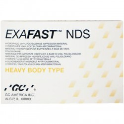 Exafast NDS Heavy Body 48ml Refill 2x48ml Cartridges & 6 Mixing Tips