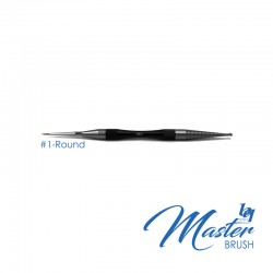 BesQual Master Brush #1 - Round with Natural Kolinsky