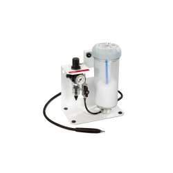 Basic mobil Fine sandblasting unit with foot switch, 25–70 µm