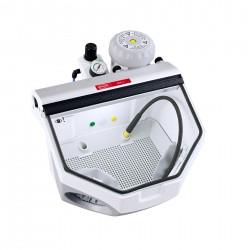 Basic eco, 70-250µm, 120 V Fine sandblasting unit