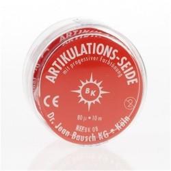 BK 08 Red Articulating Silk, 16mm Wide