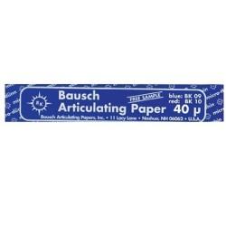Articulating Paper Strips Blue 40Micrn 200/Bx