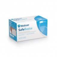 SAFE BASICS MASKD LEVEL 2  (50/Box)  BLUE Medicome
