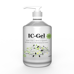 IC-Gel Pack of 1Hand Sanitizer Skin Gel 480ML (DD4)