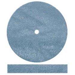 Rubber Wheels 5004 Blue Hi-glaze Square 7/8 100/Bx