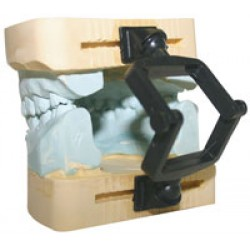 Articulator Black Disposable Slotted